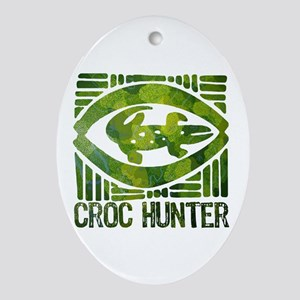 Crikey - A Tribute to Steve Irwin Oval Ornament