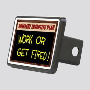 WORK ETHIC Rectangular Hitch Cover