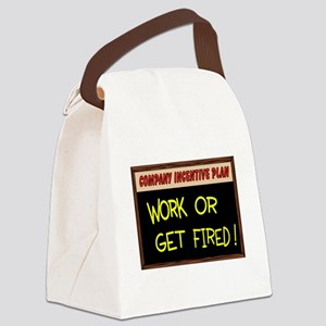 WORK ETHIC Canvas Lunch Bag