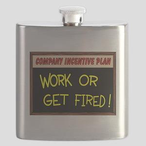 WORK ETHIC Flask
