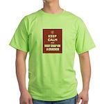 Keep Calm Holy Crap Green T-Shirt