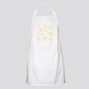 Yellow Dotty Starfish. Apron