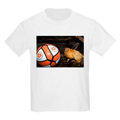 Golden Lion Tamarin with Volleyball T-Shirt