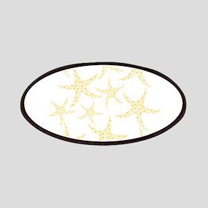 Yellow Dotty Starfish. Patches