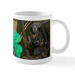 Monkey With Shamrock Mug