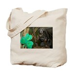 Monkey With Shamrock Tote Bag