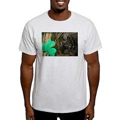 Monkey With Shamrock T-Shirt