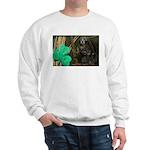 Monkey With Shamrock Sweatshirt