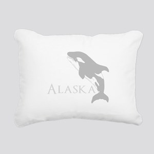 Whale Song Rectangular Canvas Pillow