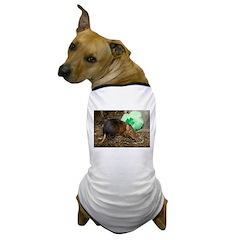Elephant Shrew with Shamrock Dog T-Shirt