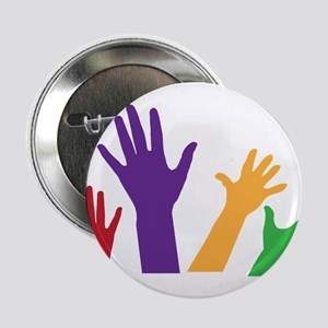 """Hands 2.25"""" Button"""