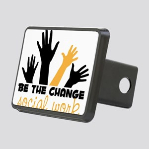 BeThe Change Rectangular Hitch Cover