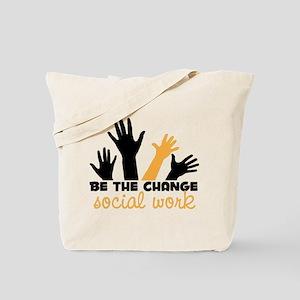 BeThe Change Tote Bag