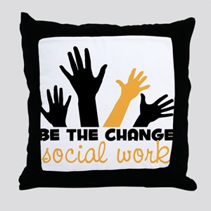 BeThe Change Throw Pillow