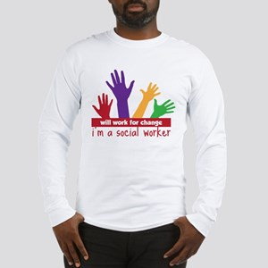 Work For Change Long Sleeve T-Shirt