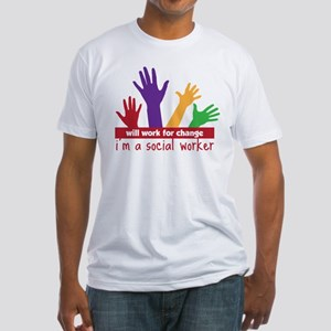 Work For Change Fitted T-Shirt