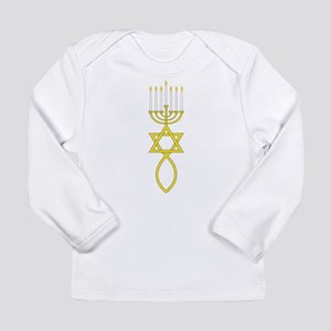Messianic Seal Long Sleeve Infant T-Shirt