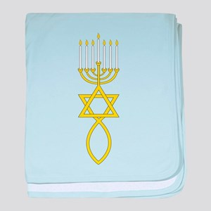 Messianic Seal baby blanket