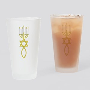 Messianic Seal Drinking Glass