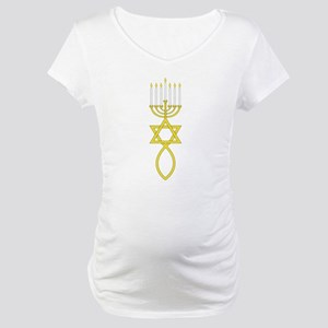 Messianic Seal Maternity T-Shirt
