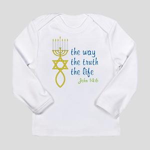 John 14:6 Long Sleeve Infant T-Shirt