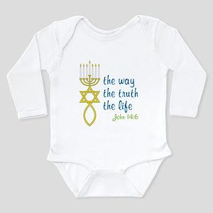 John 14:6 Long Sleeve Infant Bodysuit
