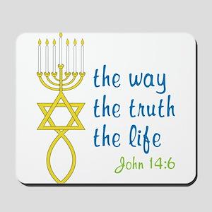 John 14:6 Mousepad