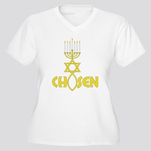 Chosen Women's Plus Size V-Neck T-Shirt