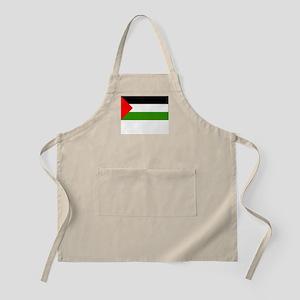 Palestine Flag Picture BBQ Apron