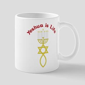Yeshua Is Life Mug