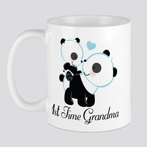 1st Time Grandma panda Mug