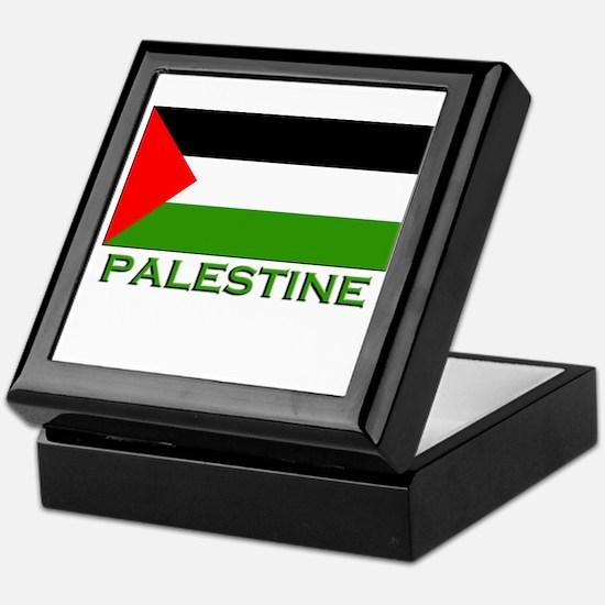 Palestine Flag Stuff Keepsake Box