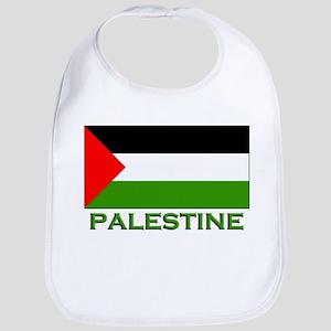Palestine Flag Stuff Bib