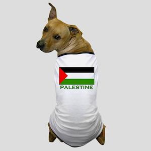 Palestine Flag Stuff Dog T-Shirt