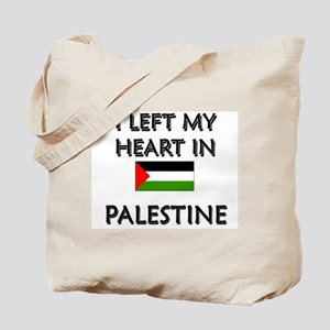 I Left My Heart In Palestine Tote Bag