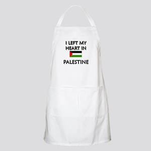 I Left My Heart In Palestine BBQ Apron