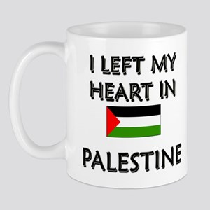 I Left My Heart In Palestine Mug