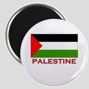 Palestine Flag Gear Magnet