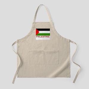 Palestine Flag Gear BBQ Apron