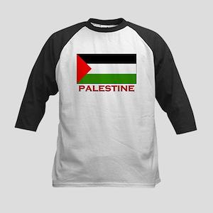 Palestine Flag Gear Kids Baseball Jersey