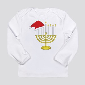 Hanukkah And Christmas Long Sleeve Infant T-Shirt