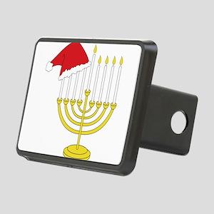 Hanukkah And Christmas Rectangular Hitch Cover