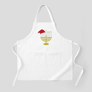 Hanukkah And Christmas Apron