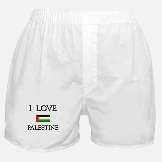 I Love Palestine Boxer Shorts