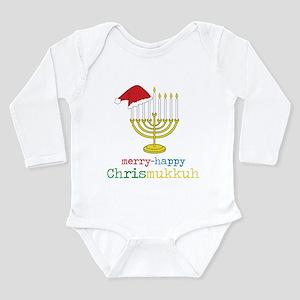 Chrismukkuh Long Sleeve Infant Bodysuit