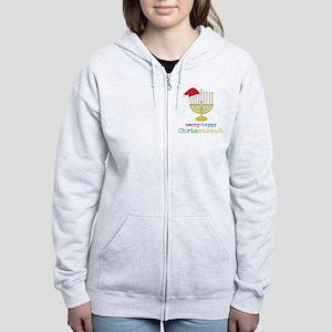 Chrismukkuh Women's Zip Hoodie
