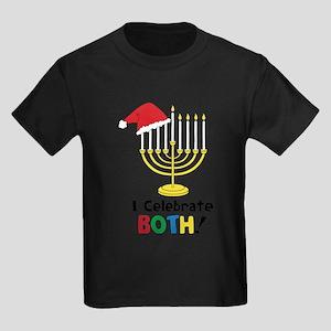 I Celebrate Both Kids Dark T-Shirt