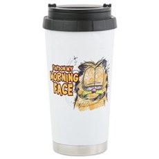 PARDON MY MORNING FACE Stainless Steel Travel Mug