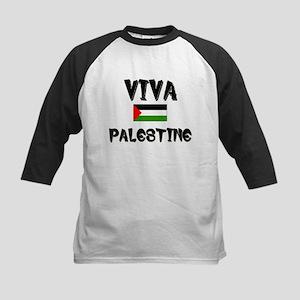 Viva Palestine Kids Baseball Jersey