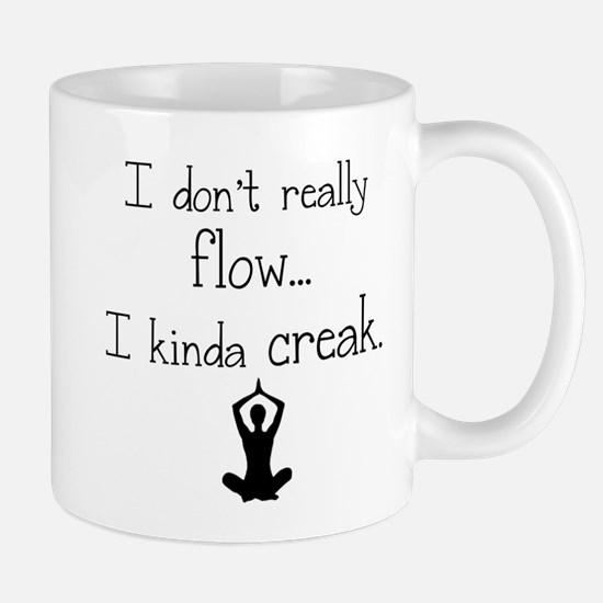 Flow or creak? Mug